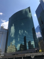 Boat Tour Building Reflection