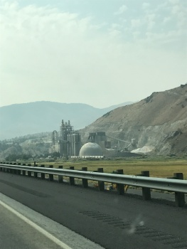 Day 2, Aug 23, a cement plant along the old OR trai, OR before the ID border