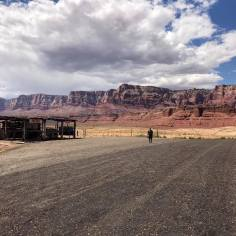Day 4, Aug 25 lunch stop at marble canyon in the Navajo Nation
