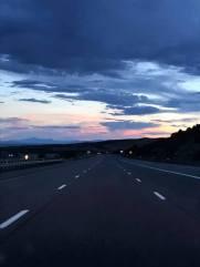 Day 4, Aug 25 sunset near Scipio, UT