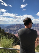 Day 4, Aug 25, taking in the Grand Canyon