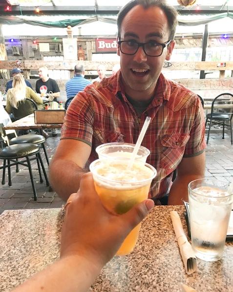Day 7, Aug 28, Celebratory drinks and Jazz