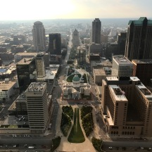 Day 7, Aug 28, View from the arch