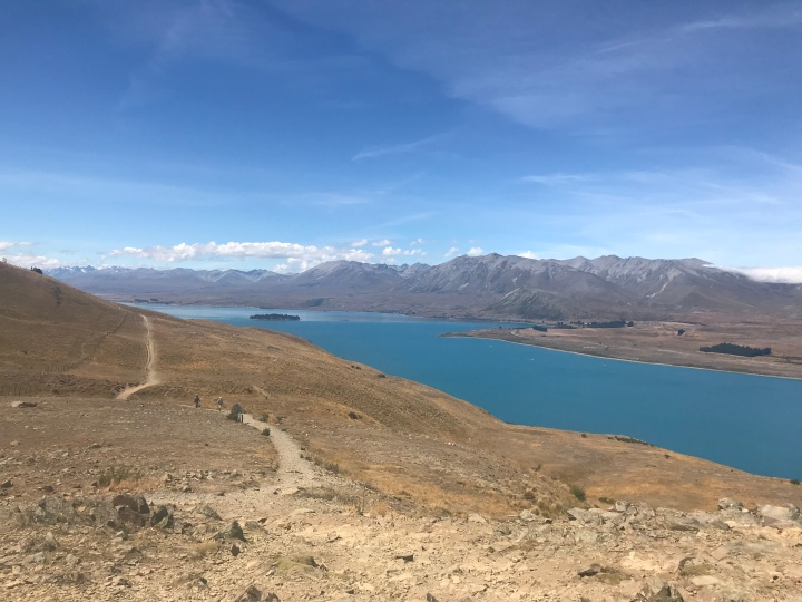My First Kiwi Xmas & A New Year's Hike At Lake Tekapo